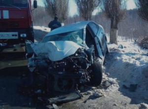 Ужасающие последствия ДТП сняли на воронежской трассе