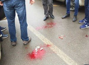 Бомж с ножом напал на полицейских в Воронеже