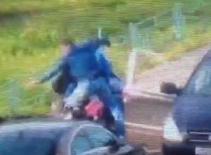 Видеозапись предотвращения заказного убийства воронежского бизнесмена опубликовали в Сети