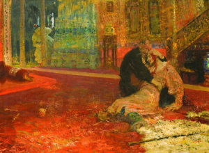 Вариант порванной картины «Иван Грозный» увезли из Воронежа в Москву