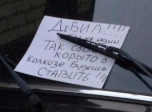 В Воронеже «дебила» попросили ставить свое «корыто» в колхозе