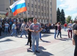 Митинг имени Навального в Воронеже прошёл по завету Пескова