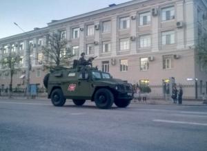 Воронежцы пришли в восторг от репетиции Парада Победы в центре города