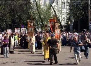 Тысячи православных верующих дойдут пешком из Воронежа в Задонск