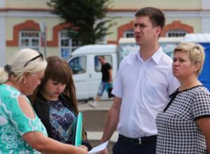 Вице-мэр Антиликаторов узрел рождение сквера «Ученых» в Воронеже