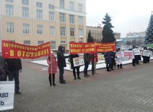 Власть парадоксально услышала требование предпринимателей Воронежа об отставке Гусева-Антиликаторова
