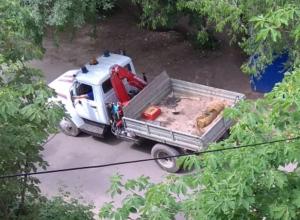 Снаряд, едва не разорвавший парк Южный в Воронеже, эвакуировали