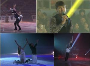 Неожиданные падения и опаснейшие элементы: как в Воронеже выступили известные фигуристы шоу «Ледниковый период»