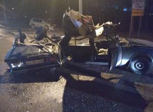 Опубликованы снимки с места чудовищного ДТП в Воронеже