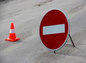 В Воронеже перекроют движение по улице Матросова