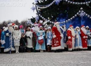 Новогодний парад в Воронеже возглавит Дед Мороз из Великого Устюга