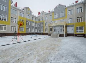 С новой пристройкой к школе Воронежской области ликвидировали вторую смену