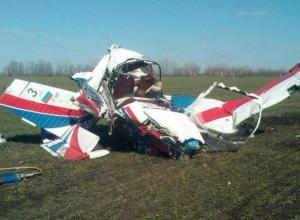 По факту крушения самолета на границе с Воронежской областью возбудили уголовное дело