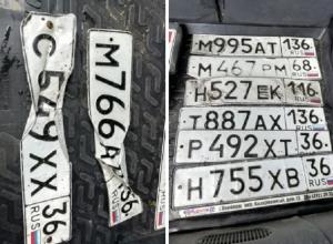 Тропический ливень намыл в Воронеже 8 автомобильных знаков