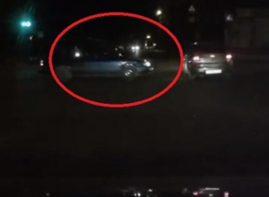 Чумовое везение лихача-нарушителя попало на видео в Воронеже