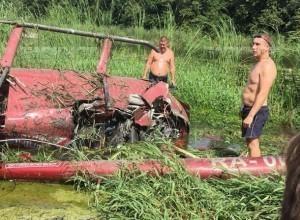Пилот из вертолётного клуба Александра Цыбаня может сесть в тюрьму