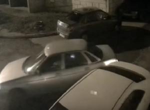 Трусливый воронежец на ВАЗе сбежал после тарана иномарки и попал на видео