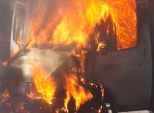 Водитель «Газели» сгорел после столкновения с фурой под Воронежем
