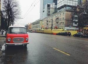 Воронежцы восхитились винтажным «BARKAS» около ЦУМа