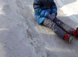 В воронежском парке «Динамо» разбился ребёнок во время катания с горки