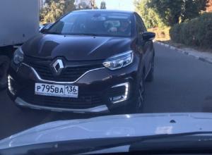 Воронежцы возненавидели царя дороги на Renault