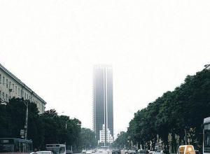 Эпичный снимок воронежского небоскреба впечатлил соцсети