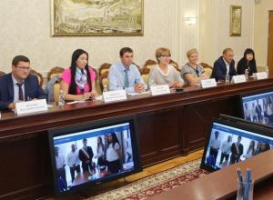В Воронеже чиновники поговорили по Skype с итальянским мэром без Вадима Кстенина