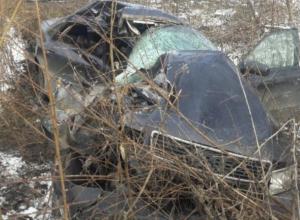 Опубликовано фото с места страшного смертельного ДТП на воронежской дороге