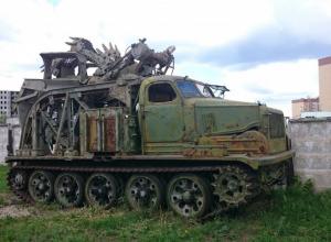 В Воронеже нашли постапокалиптическую машину-монстра