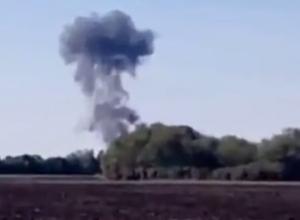 Появилась видеозапись крушения самолета в Воронежской области