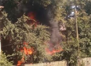Взрывы и огонь на Ленинградской испугали воронежцев