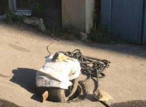 Русская смекалка воронежцев грозит спровоцировать потоп в центре города