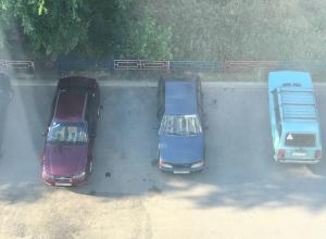 Массовую парковку пухлых людей сфотографировали в Воронеже