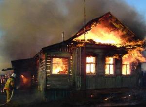 Воронежская учительница сгорела вместе с мужем в своем доме