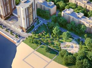 Каким будет жилой комплекс «Аквамарин» на берегу Воронежского водохранилища