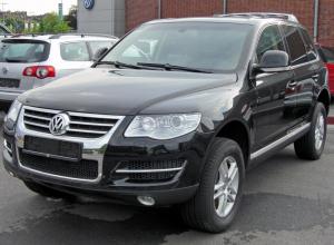 За долг в 90 тысяч у воронежца арестовали Volkswagen Touareg