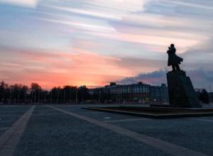 Создание акварельных облаков в Воронеже показали на видео
