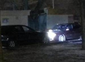 В Воронеже «водители-олени» не смогли поделить дорогу и рассмешили горожан