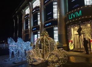 В центре Воронежа появилась потрясающая новогодняя скульптура