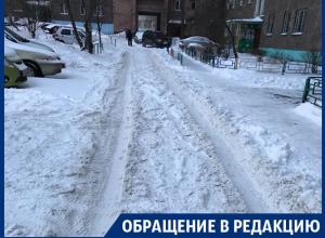 Коммунальщики ждут, пока все само растает, – жительница Воронежа