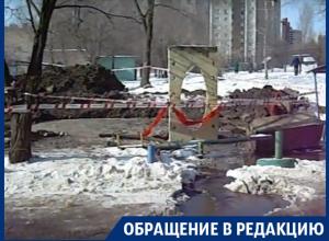 Потоп в «аномальной зоне» на улице 9 января в Воронеже сняли на видео