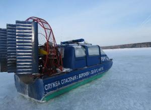 В Воронеже раздетый мужчина обморозился, лежа на льду водохранилища