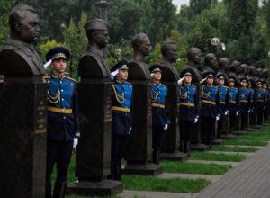 В Воронеже торжественно открылась Аллея героев