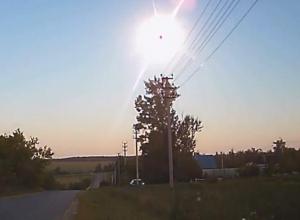 Падение и взрыв метеорита сняли на видео в Воронеже