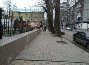 Из-за аномальной погоды на дороги Воронежа выехали мотоциклисты