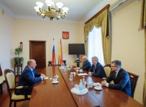 Губернатор Гусев ждет итальянских инвестиций в воронежские мясо и молоко