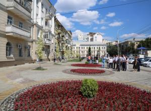 Прекрасное обновление Университетской площади сняли в Воронеже