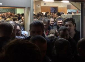 Чудовищная давка на концерте «Ленинграда» в Воронеже попала на видео