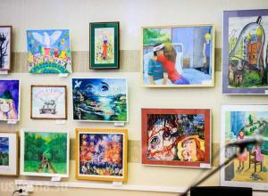 В Воронеже пройдет душераздирающая выставка «Война и мир глазами детей Донбасса»