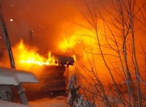 На пожаре в частном доме под Воронежем погиб мужчина